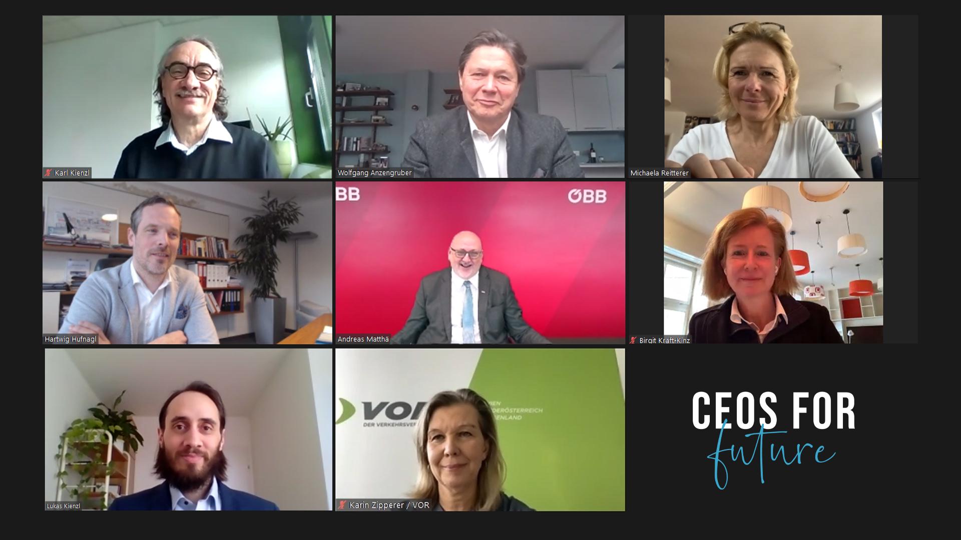 CEOs FOR FUTURE Lehrlingsinitiative TopmanagerInnen